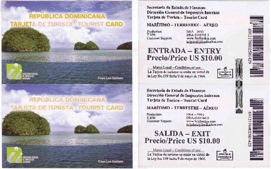 Туристическая Карточка В Доминикану Образец - фото 11